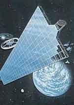 elektrownia słoneczna w kosmosie